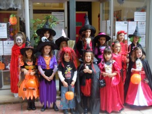 Everyone looked fantastic in their fancy dress costumes.