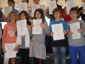 Movers certificates