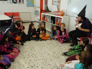 We learned some halloween words.